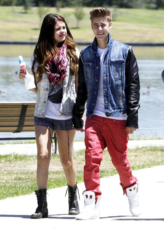 Selena Gomez, the most notorious Puma of our generation. She is two years older than her boyfriend Justin Bieber.
