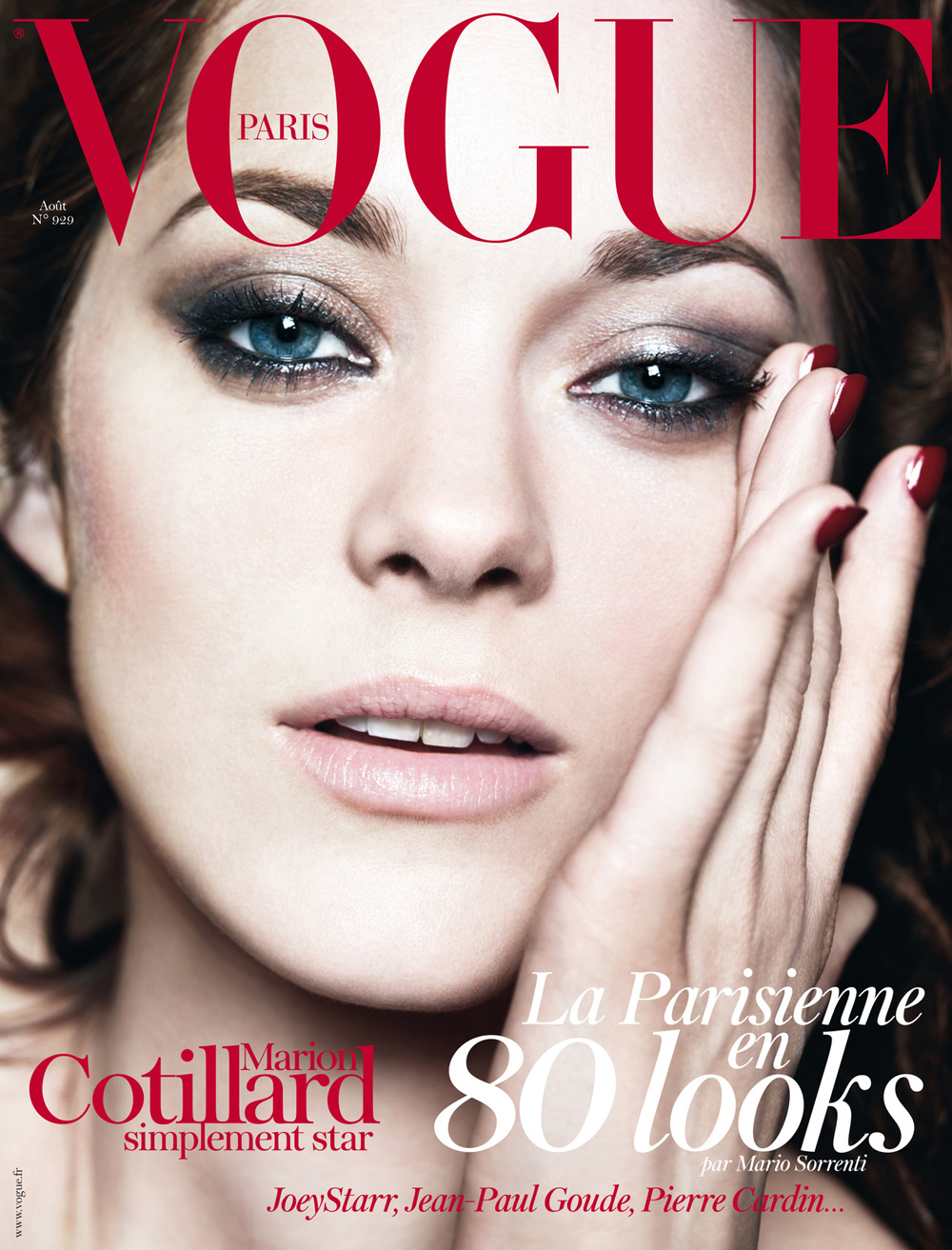 Marion Cotillard Vogue Paris Cover