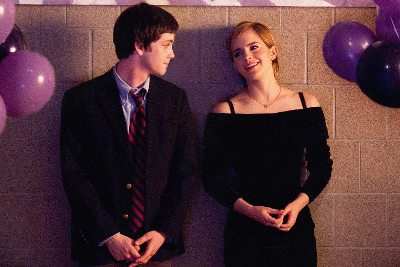 "In ""The Perks Of Being A Wallflower"" Charlie who is a freshman falls for Sam who is a senior."