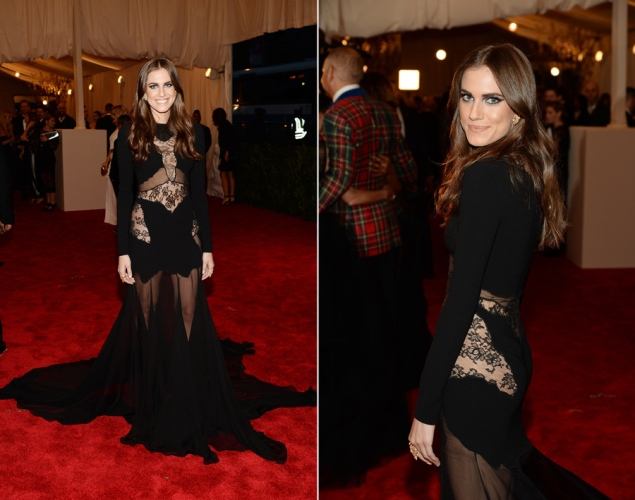 met gala allison williams