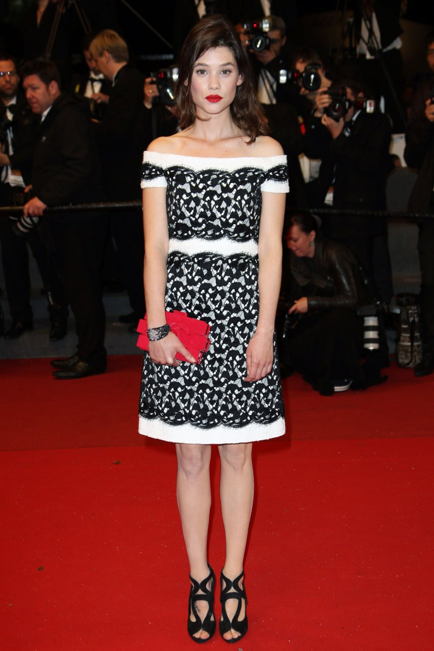 Astrid Berges-Frisbey in Chanel.