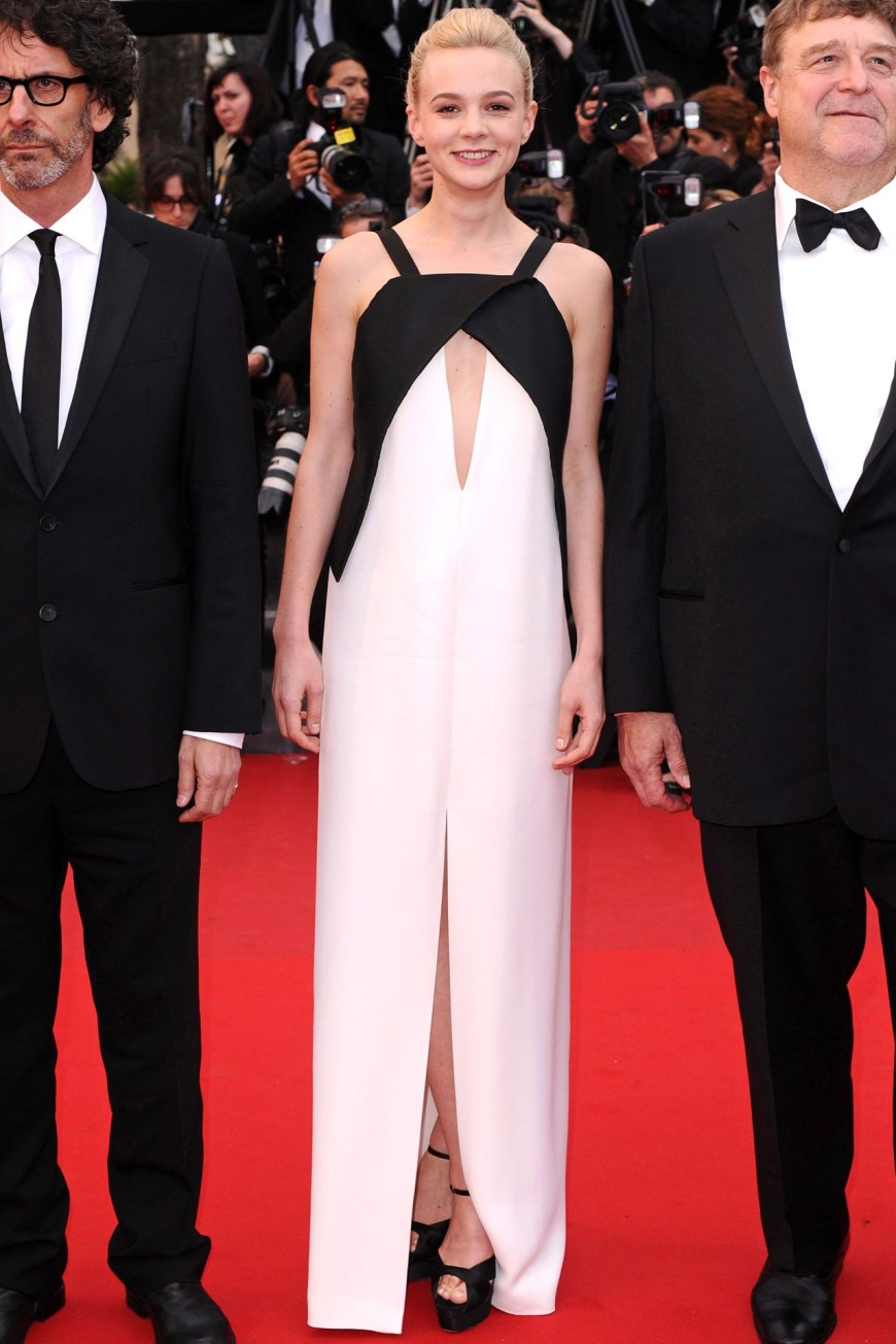 Carey Mulligan in Vionnet.