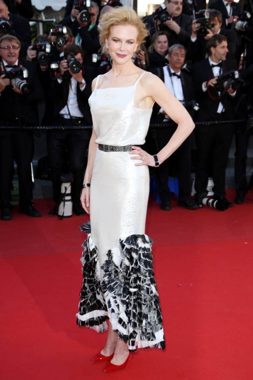 Nicole Kidman in Chanel.