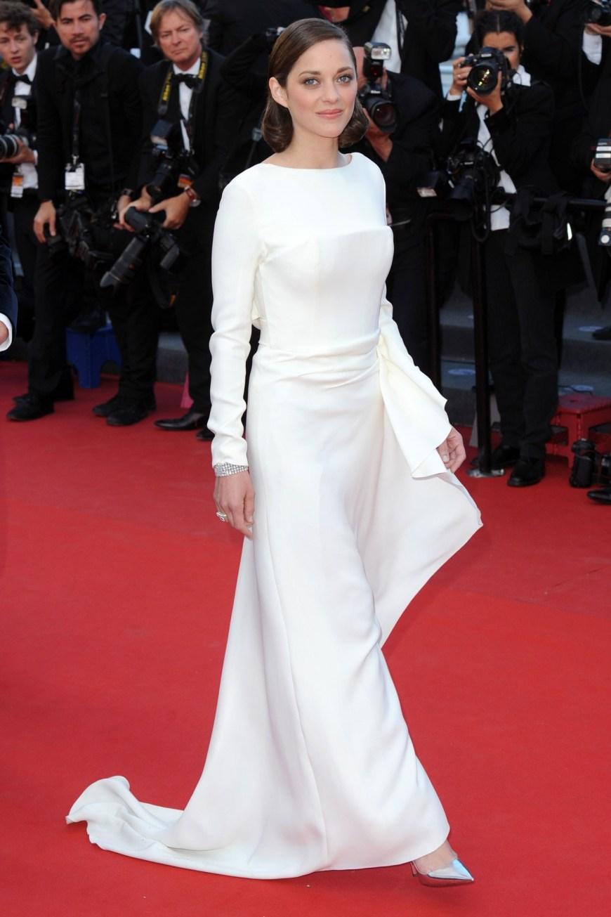 Marion Cotillard in Dior.