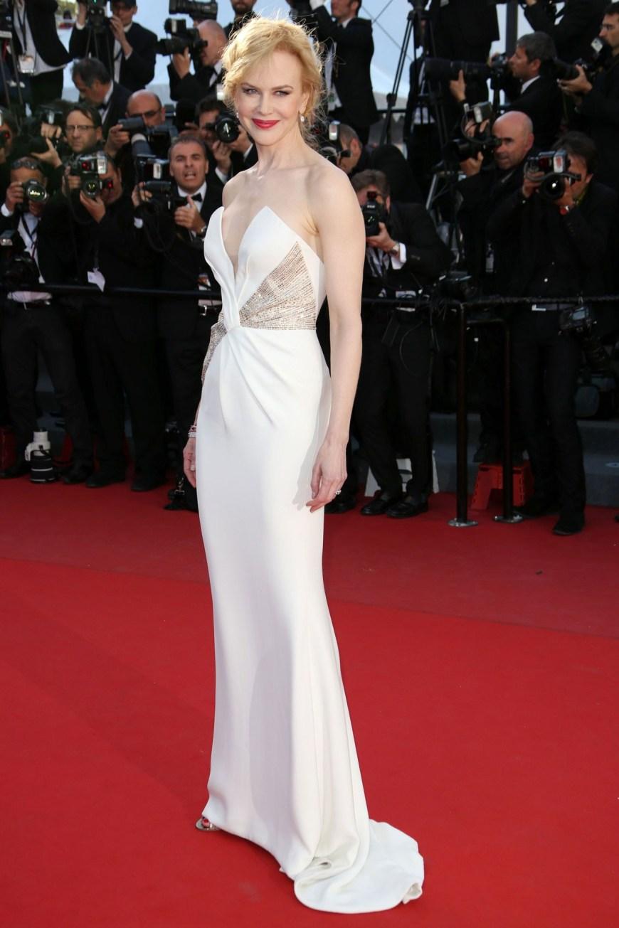 Nicole Kidman in Giorgio Armani.