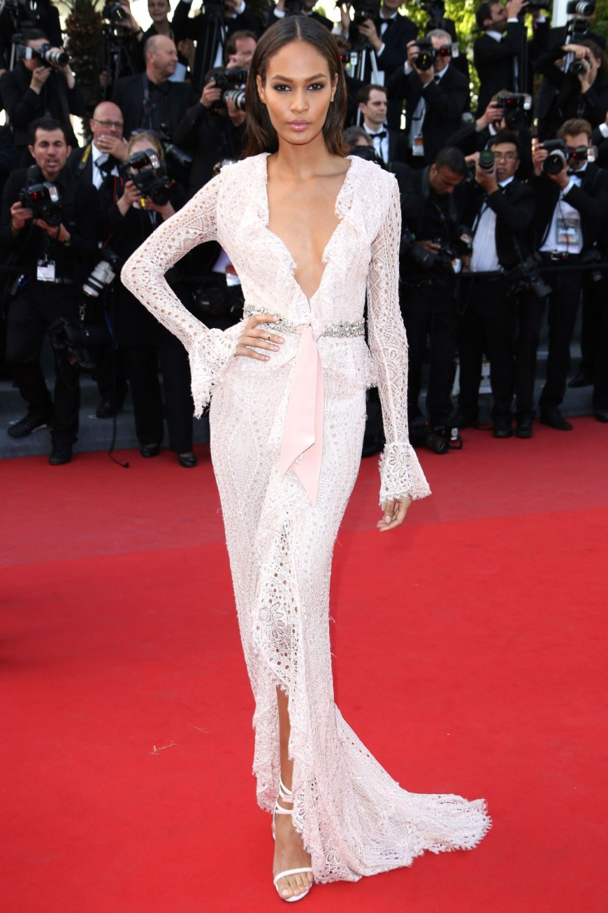 Joan Smalls in Emilio Pucci.
