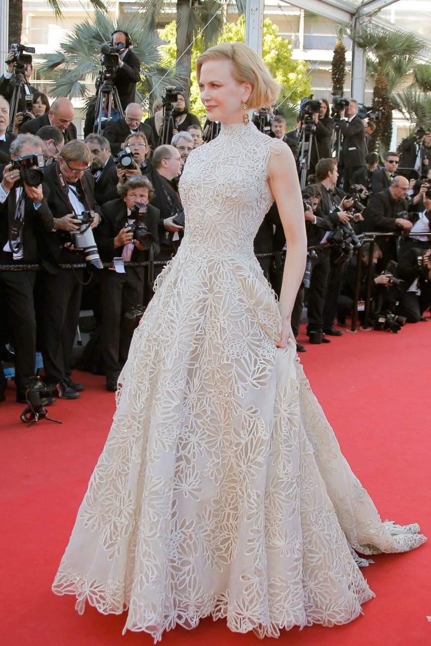 Nicole Kidman in Valentino Couture.