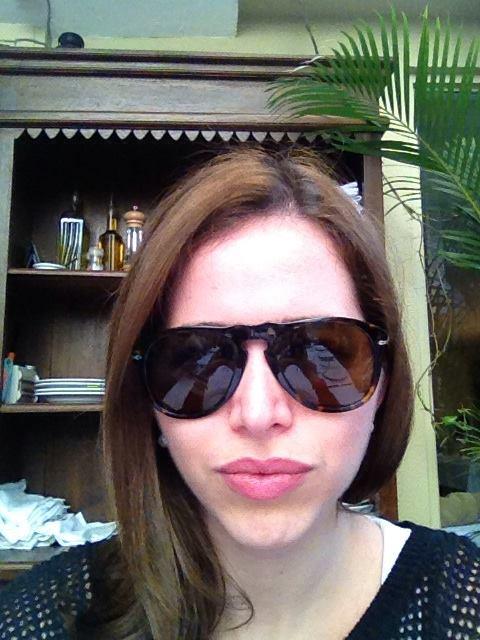 I'm so cool I wear sunglasses indoors.