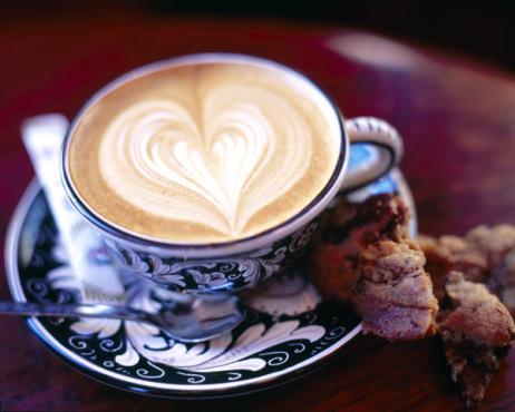 Fancy coffee cups.