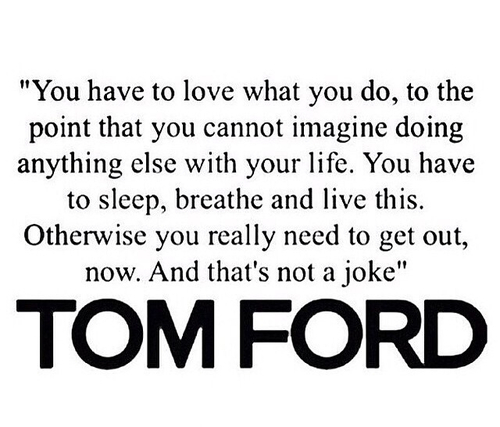 Amen Tom Ford.