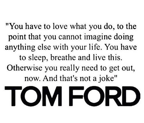 Amen Tom Ford.